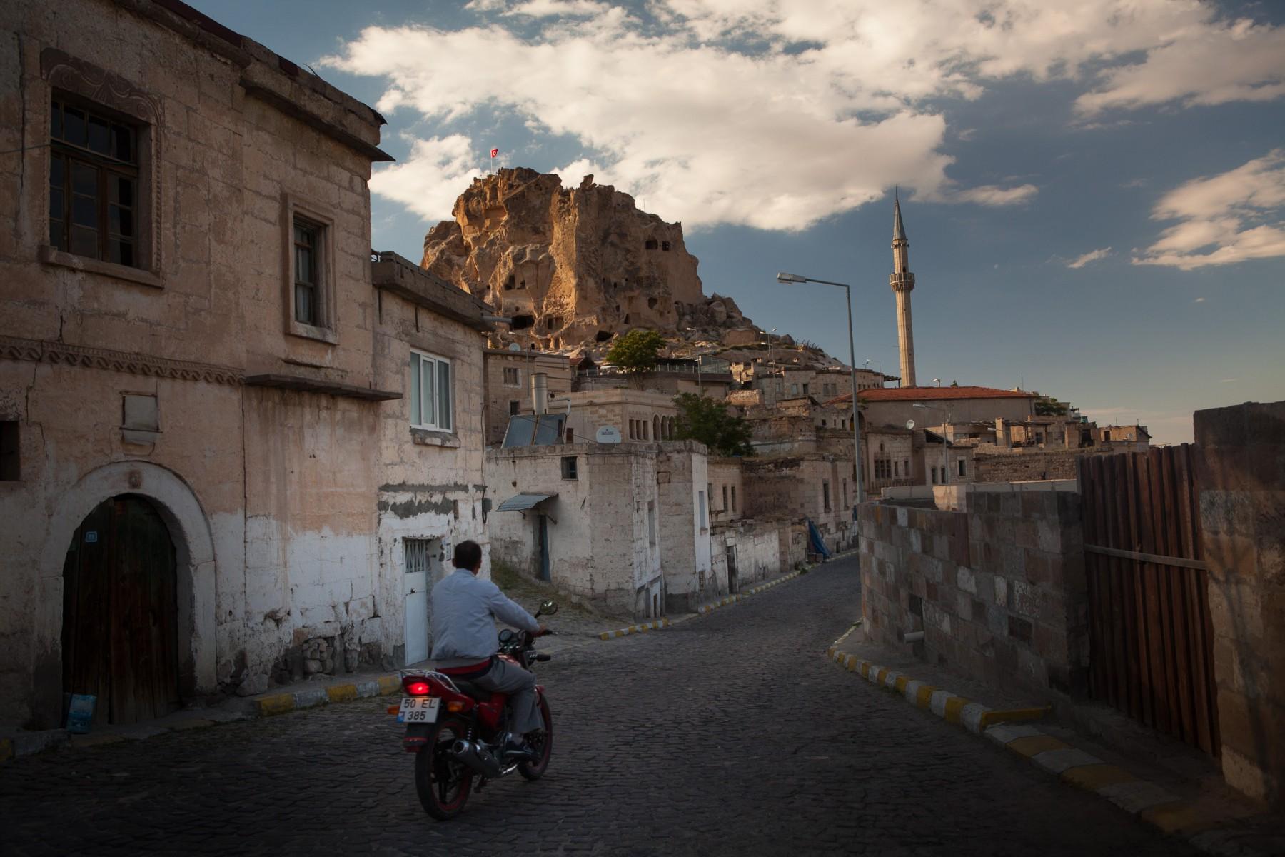 View of Üçhisar Castle
