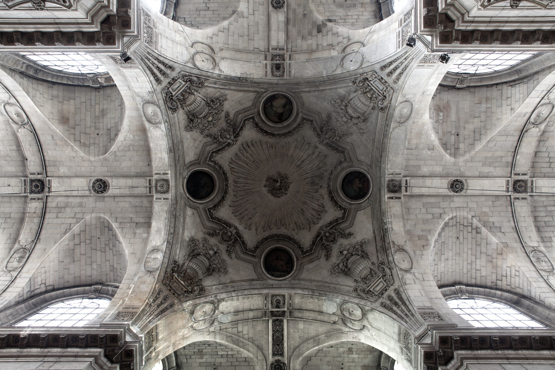 Ceiling of Saint-Sulpice