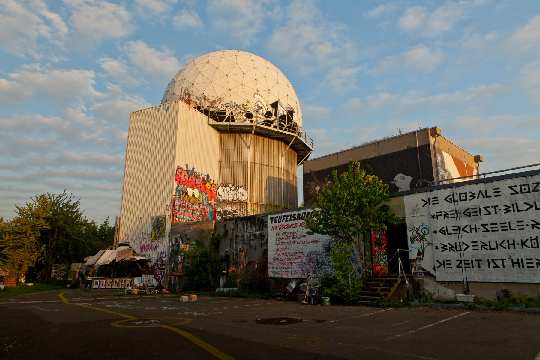 Teufelsberg dome