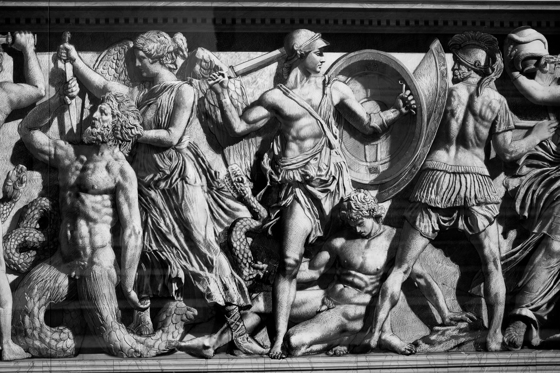 Pergamon frieze rendition