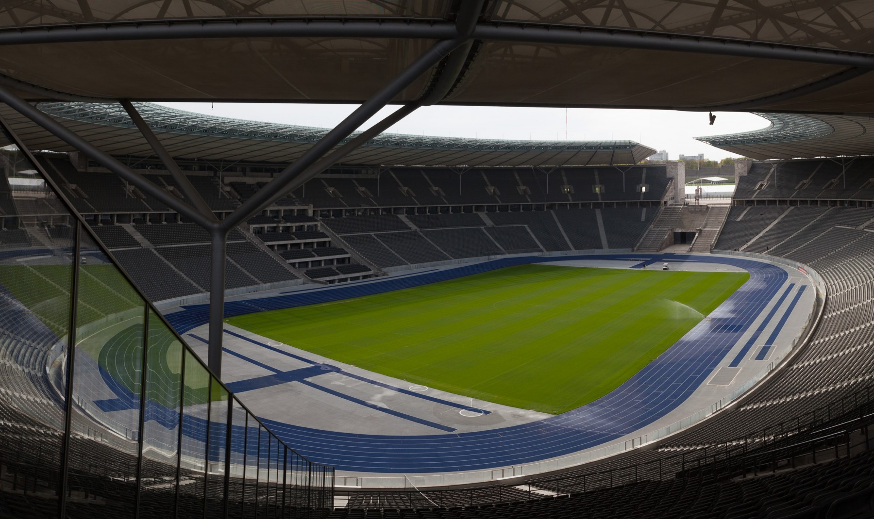 Olympiastadion grandstands