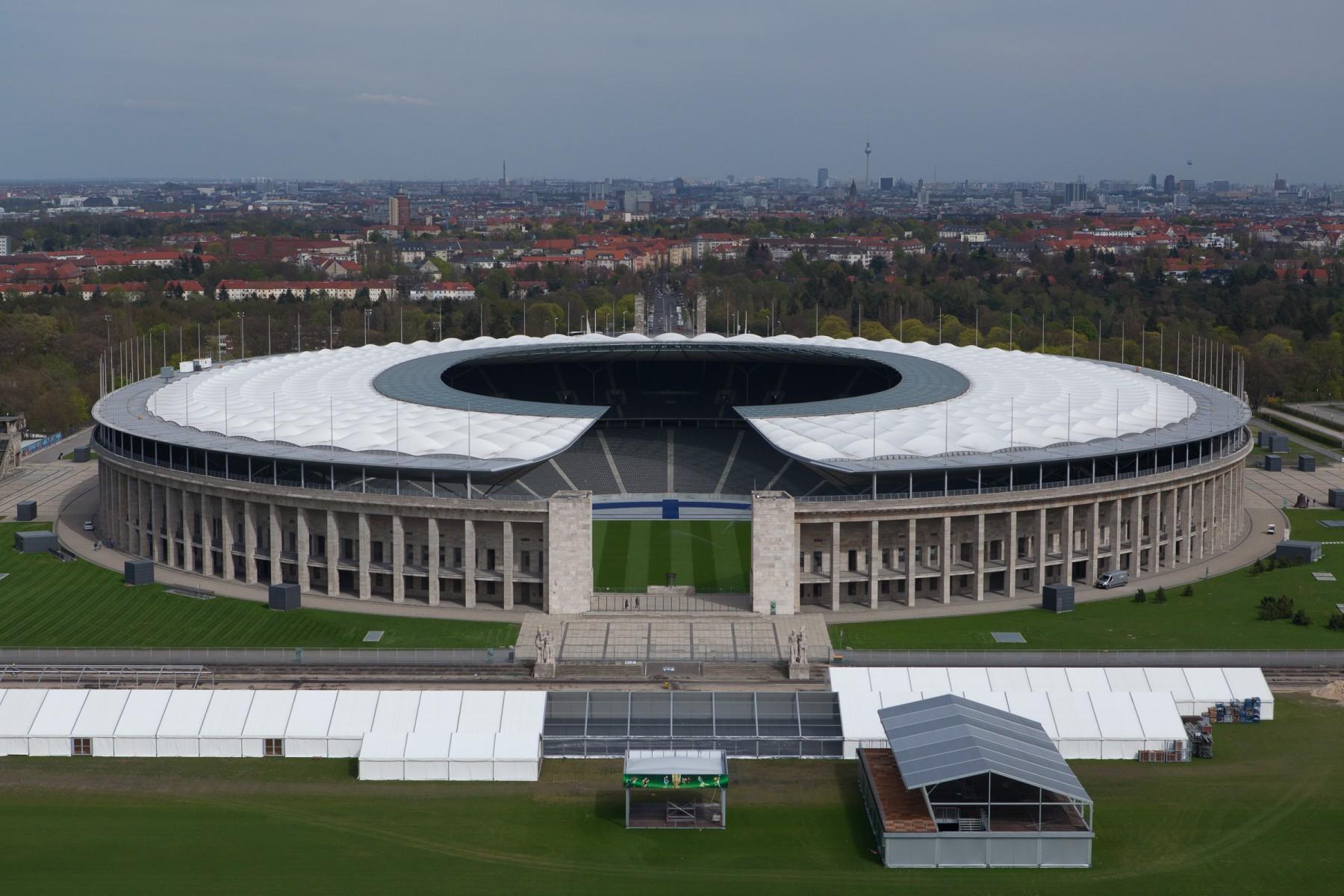 Olympiastadion vista