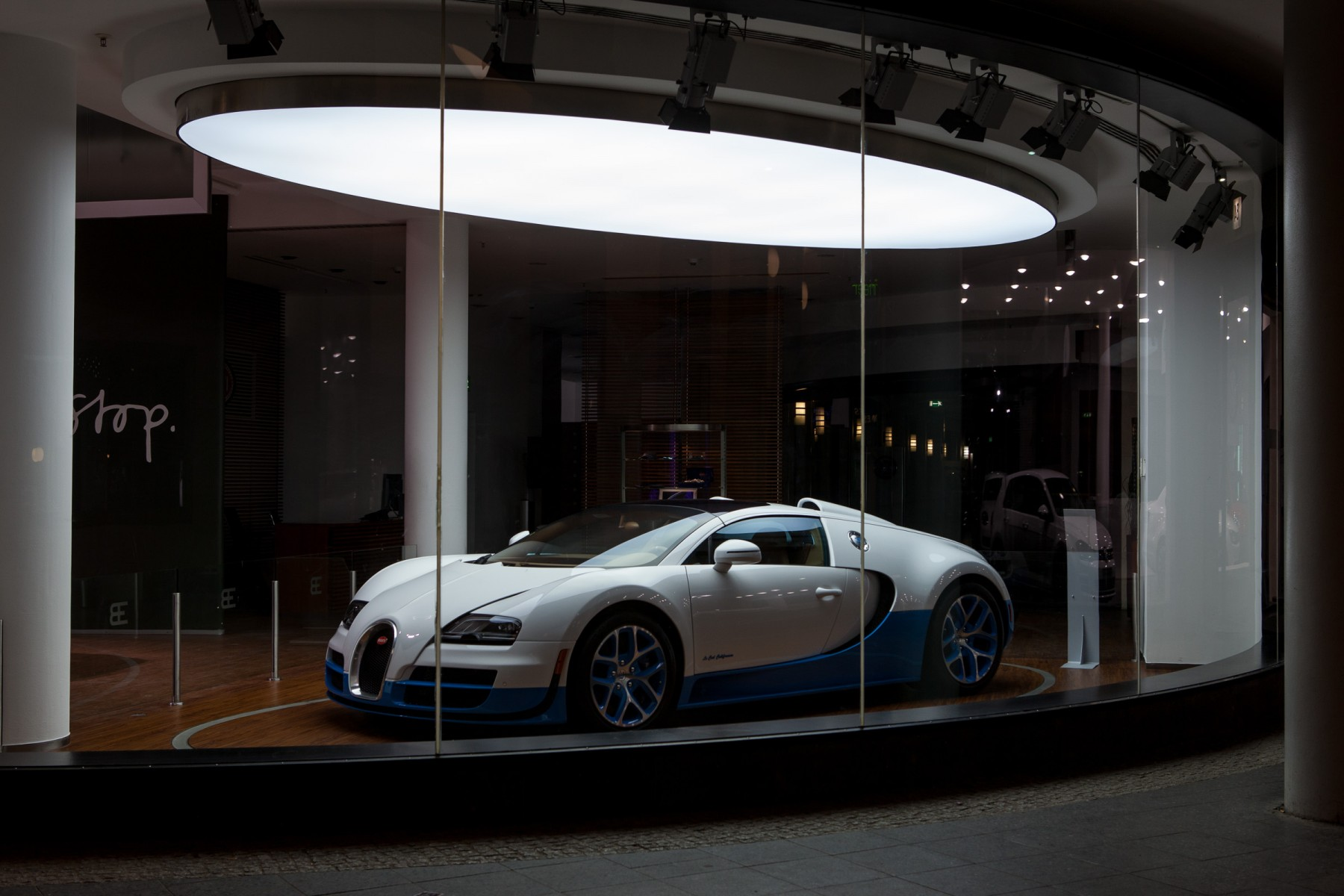 Bugatti Veyron showroom in Berlin