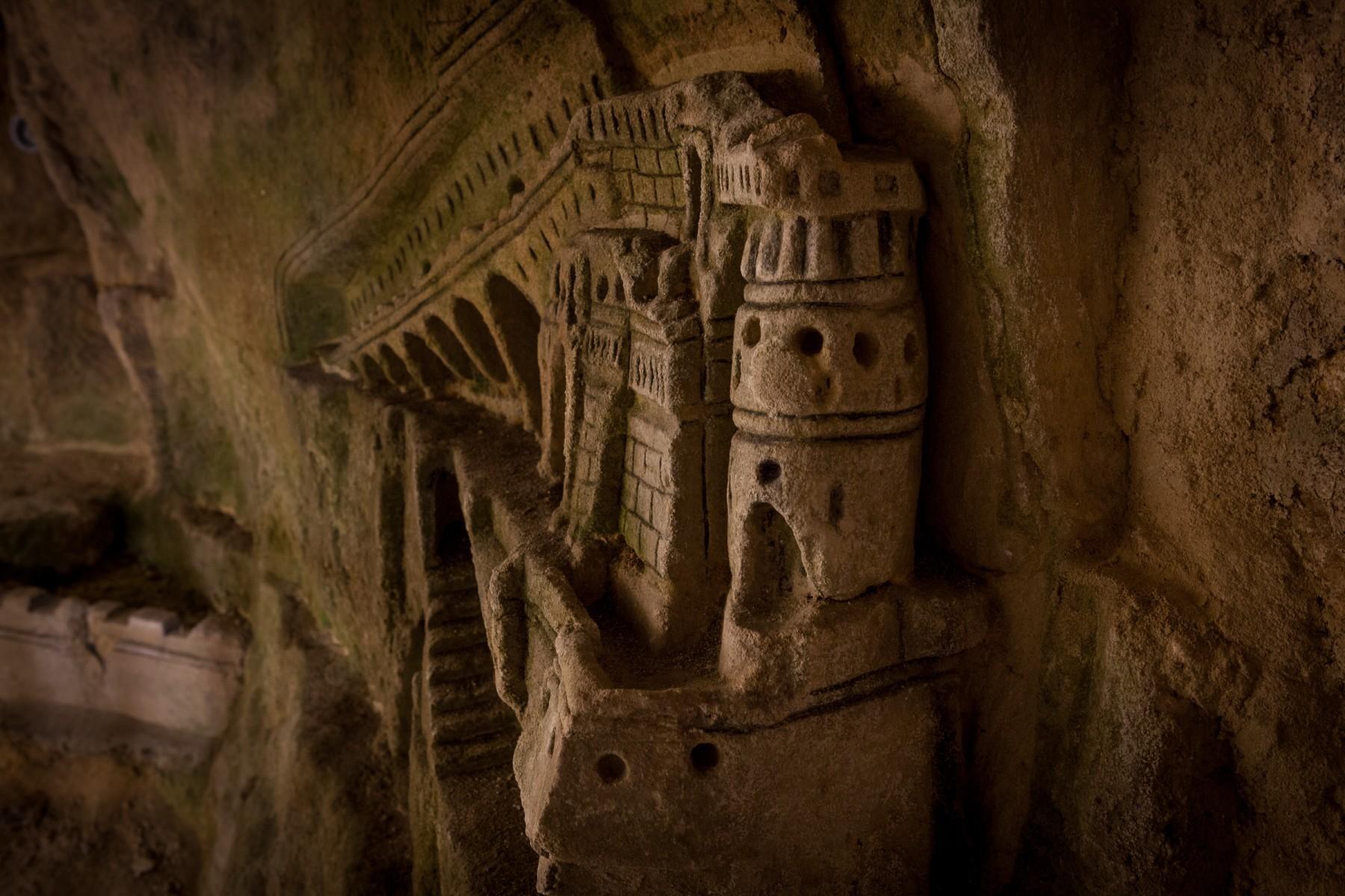 Catacomb sculpture