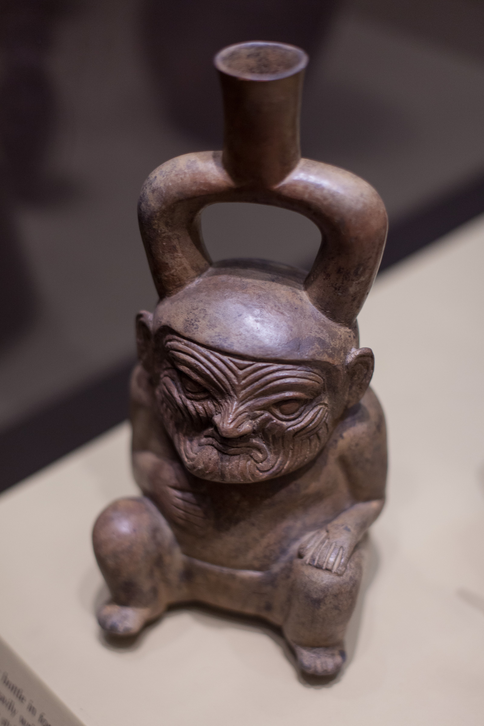 Mesoamerican figurine in New York's American Museum of Natural History