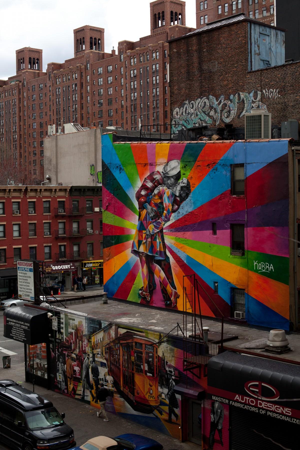 Wall mural NYC