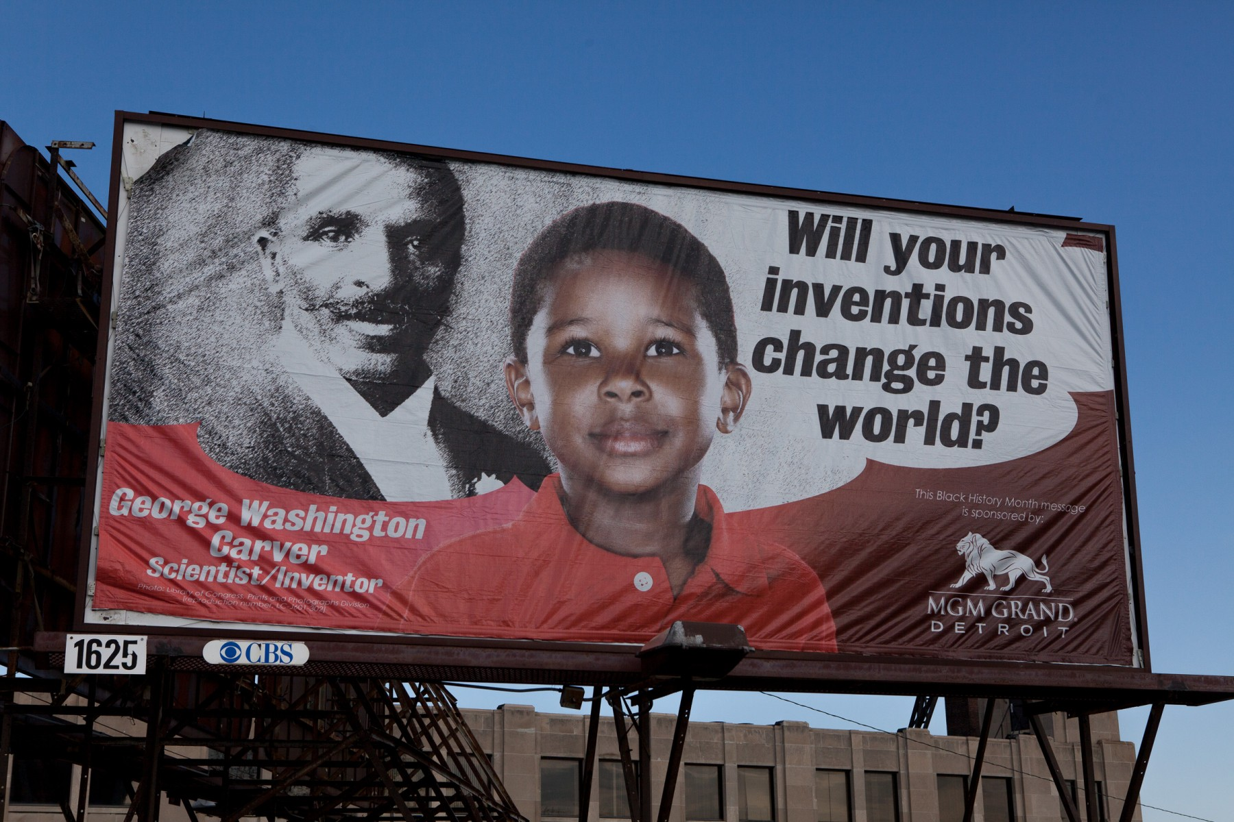Black history month inspirational messaging brought to you by the big casino sucking the life out of your neighbourhood.