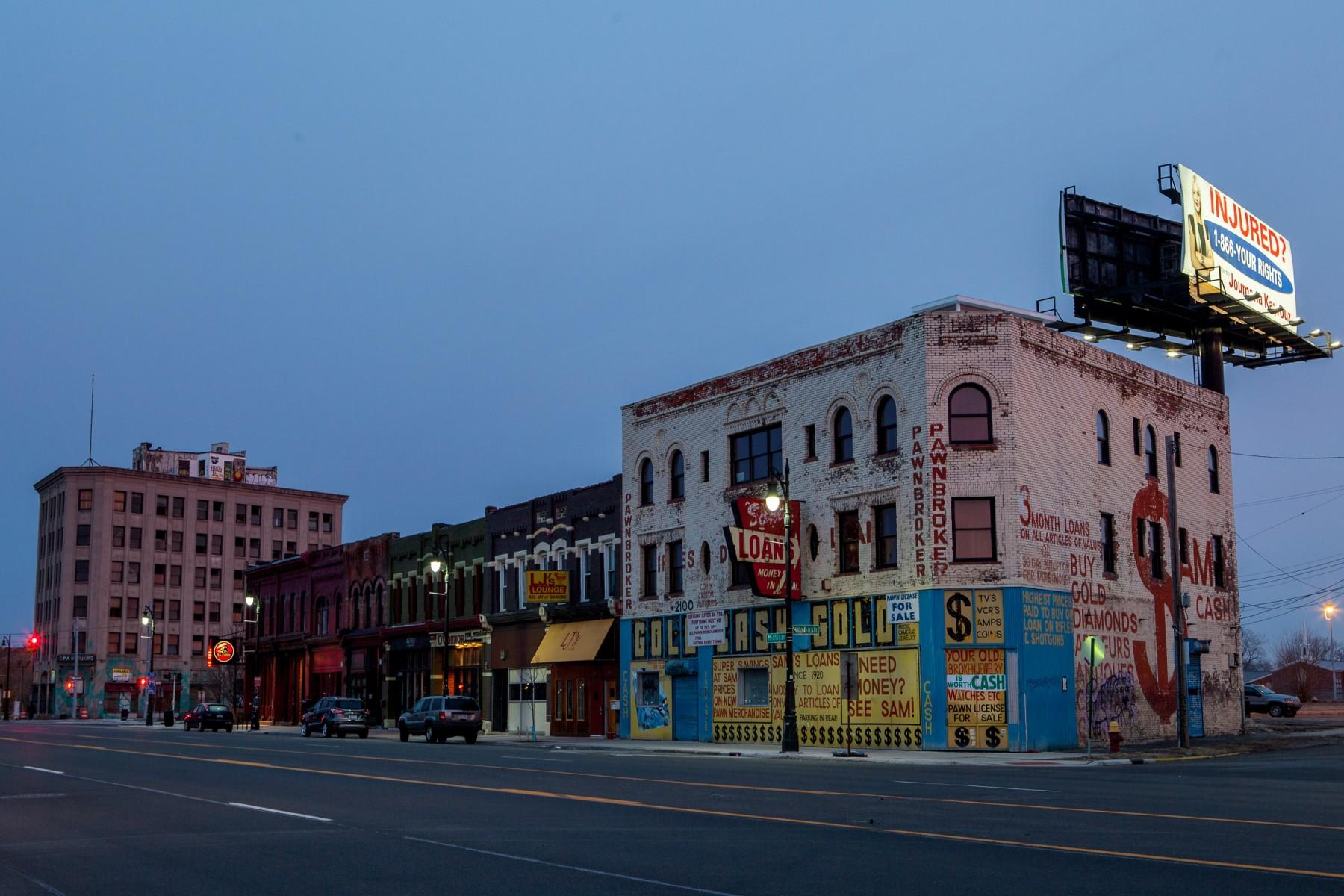Gentrification in Detroit