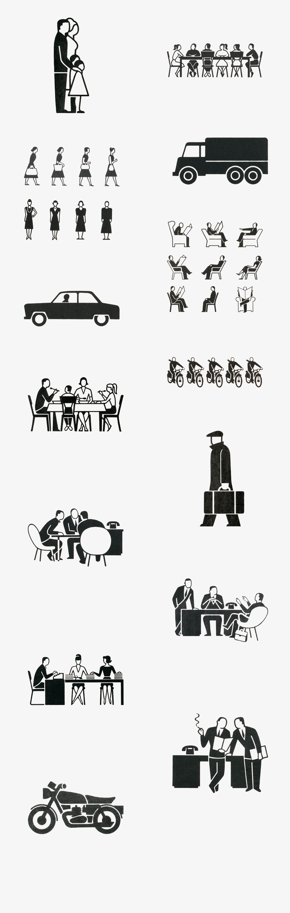 Gerd-Arntz-Collage