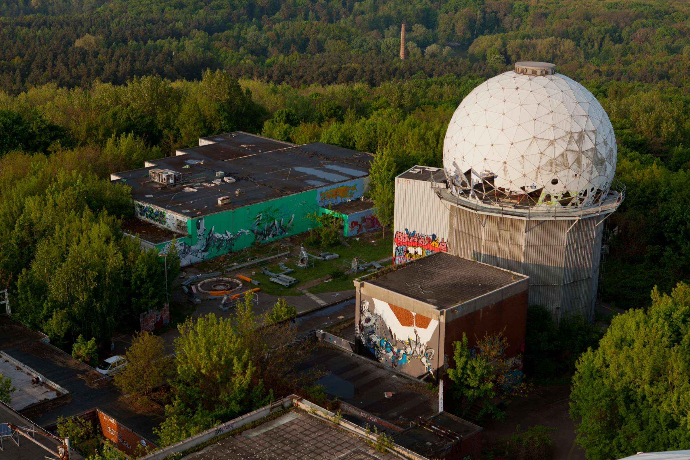 View of Teufelsberg