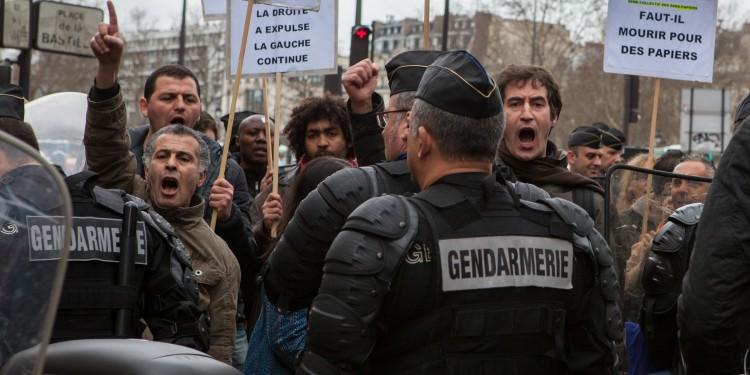 Bastille Protestors