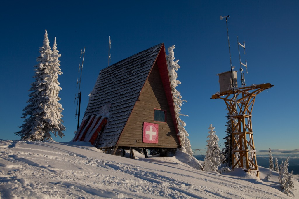 Red Mountain hut