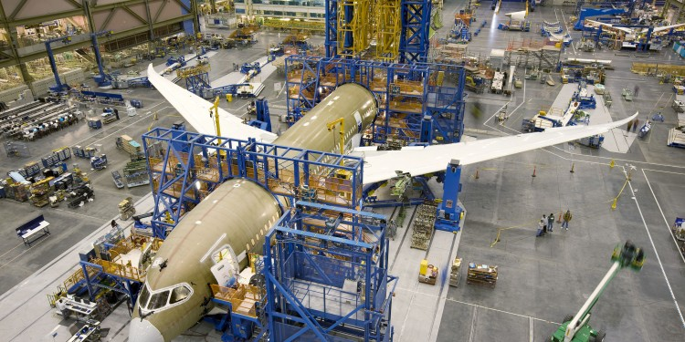 787 body join process