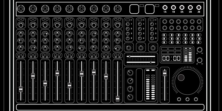 JB sound desk design