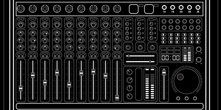 JB sound desk design