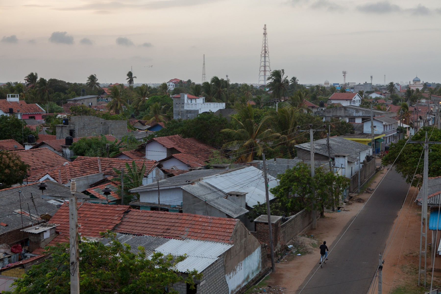 Backstreets of Puttallam on Sri Lanka's west coast.