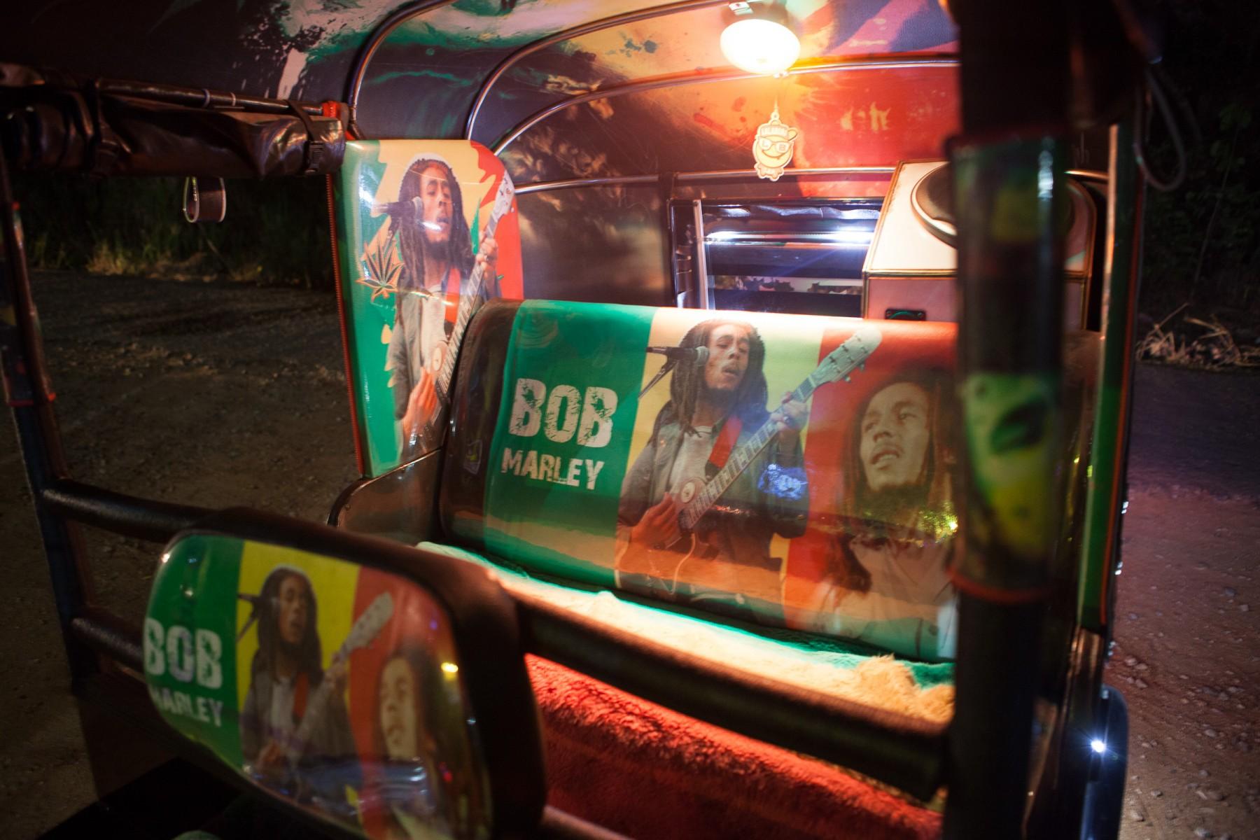 Bob Marley tuk tuk