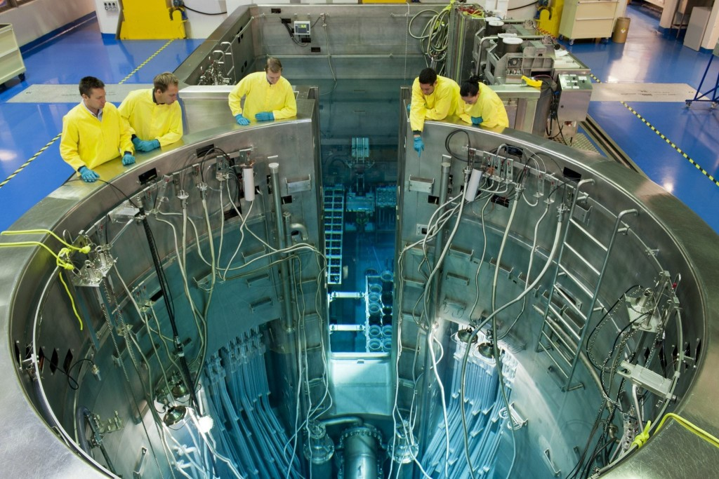 Australia's Open Pool Australian Lightwater reactor is used for research in a number of different fields and is also used to make radiopharmaceuticals for imaging diseases and for cancer treatment.