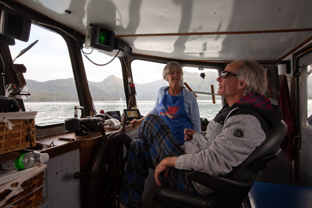Captain and 1st Mate of the M/V Milo.