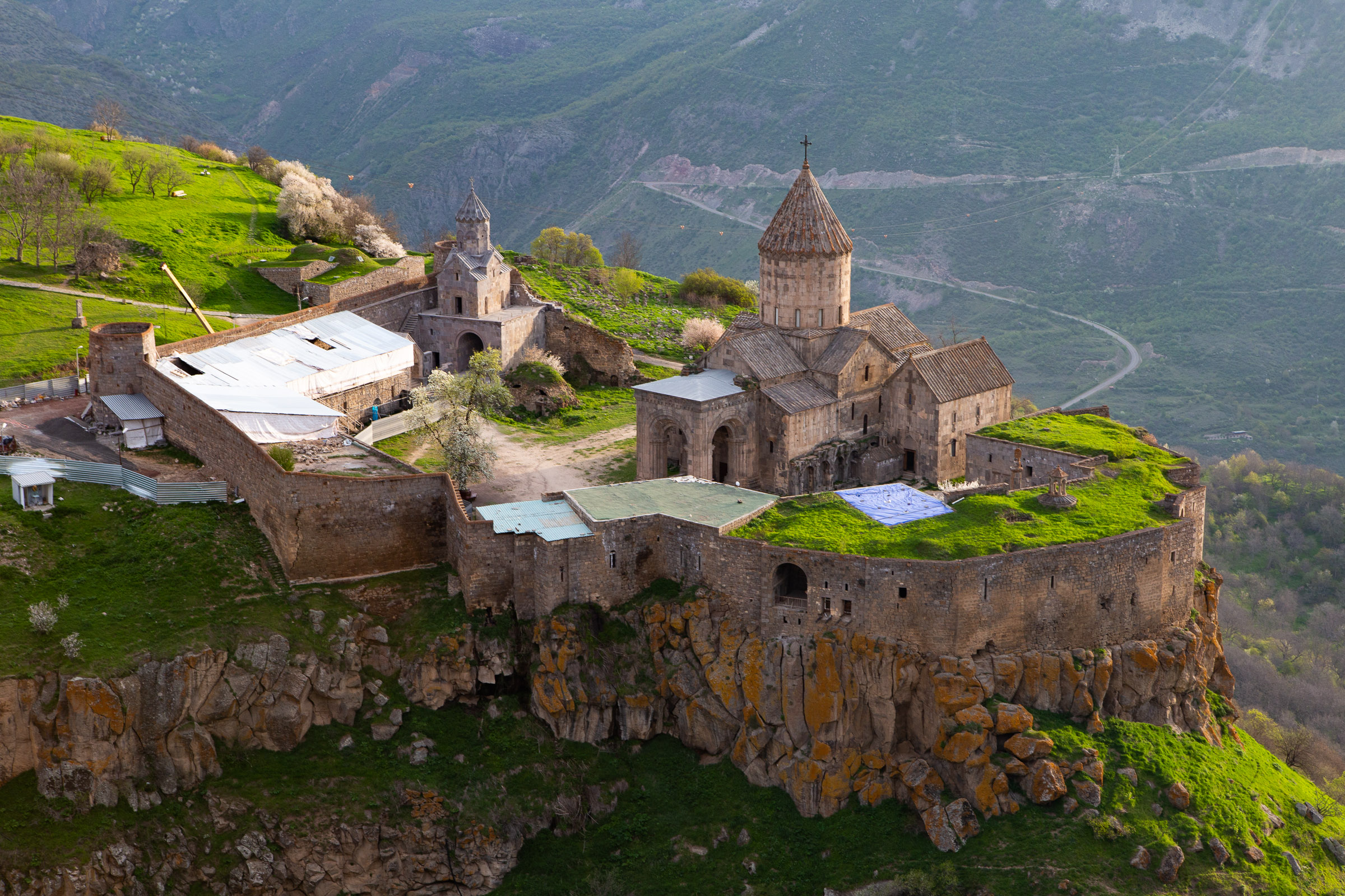 Tatev Monastery at sunrise